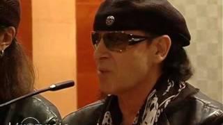 Scorpions - Пресс-конференция в Донецке 29.09.2011г