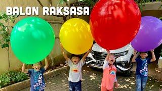 Download lagu Pixel Main Balon Raksasa 🎈Awas Ada yang Meletus Door!!! Giant Balloons Balon Jumbo Super Besar