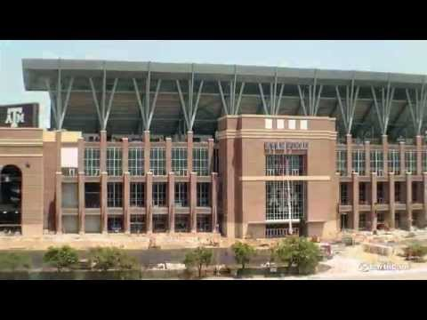 Texas A&M Redevelopment of Kyle Field Time-Lapse