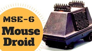 WEIRD HISTORY OF.... MSE-6 Mouse Droid Lore - Star Wars Canon & Legends Explained