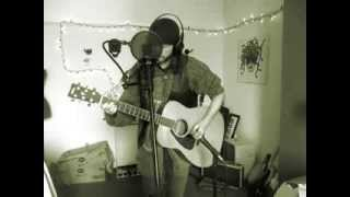 Working Class Hero - Lennon Cover - Acoustic Looping Improv - John Bassett (kingbathmat)