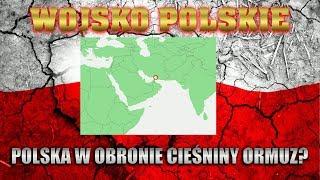 Polski udział w ochronie cieśniny Ormuz?