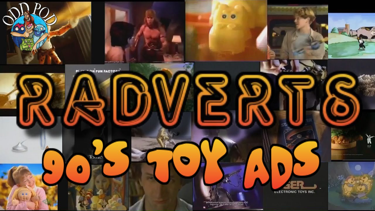 90\'s Toy Ads - Radverts | Odd Pod - YouTube