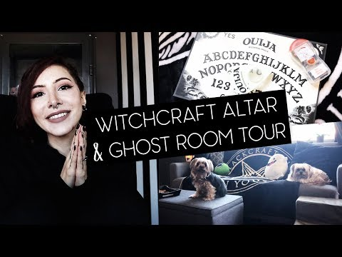 Witchcraft Altar & Ghost Room Tour!