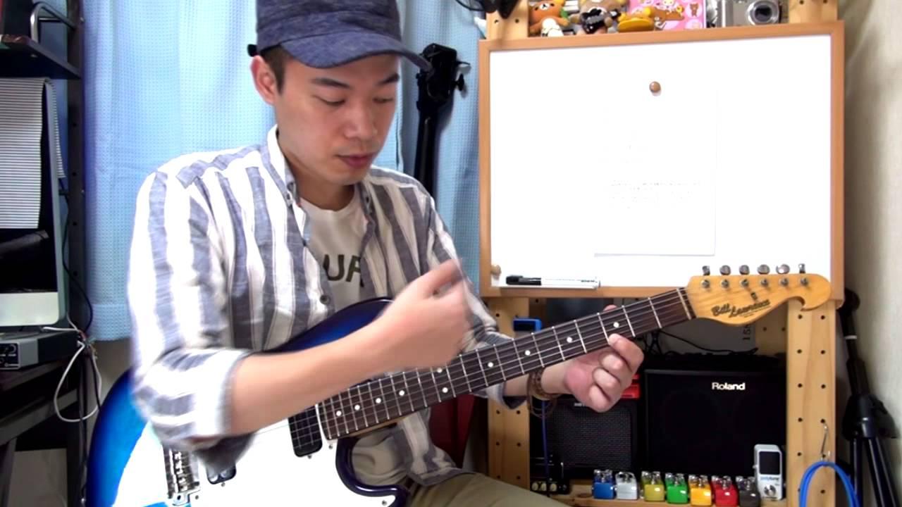 ギターレッスン【瀧澤克成の手癖...
