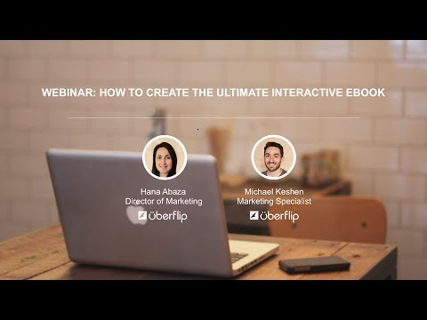 Webinar: How to Create the Ultimate Interactive eBook