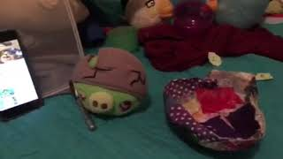 Angry Birds Plush Toons S1 Episode17 - Crash Test Piggies