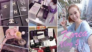 SHOPPING IN KOREA ♥ VLOG 5 - BEAUTY & FASHION SHOPPING AND THE BEST SAMGYETANG IN GANGNAM ♥