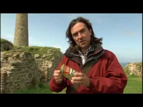 BBC Coast Cornish Tin Mining Engine Houses & Chimneys North Coast Of Cornwall