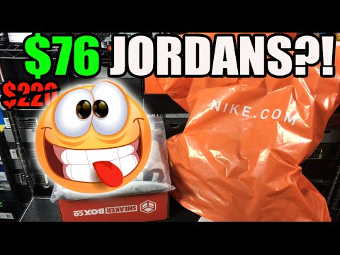 $76?! JORDANS?! (Retail $220) & $300 Jacket For $52!!