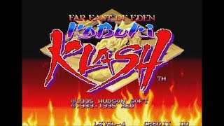 Far East of Eden: Kabuki Klash (Arcade) - Longplay as Kinu
