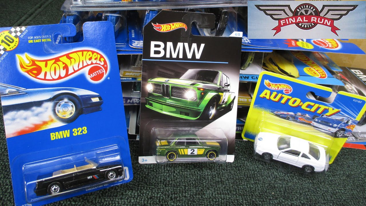 Hot Wheels BMW Models Collection including 2016 8 Car Set - YouTube