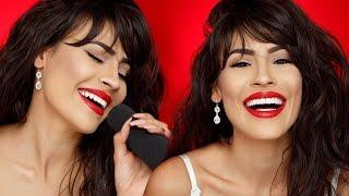 Selena Quintanilla Makeup Transformation  Desi Perkins