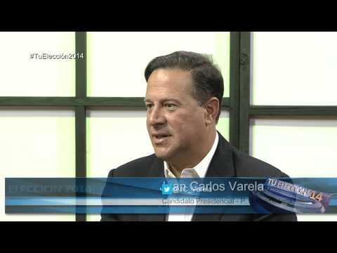 Entrevista con Juan Carlos Varela | Tu Elección 2014  | Abril 30, 2014