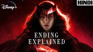 WandaVision 2021 Explained in HINDI | MARVEL | Disney+ | Ending Explained |