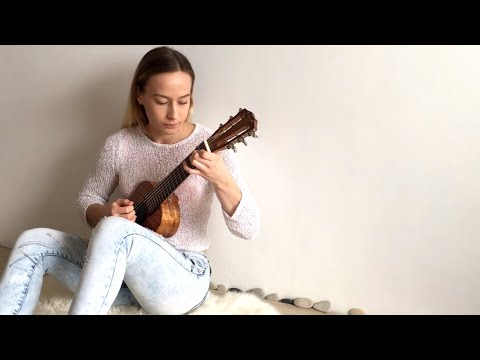 Dust in the Wind Played on Guitalele