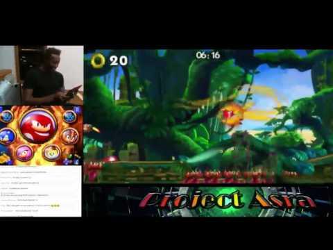 Sonic Boom Fire & Ice: ~ Knuckles Dig Gliding Glitch~ (Original Video)