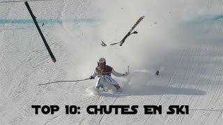 TOP 10: CHUTES EN SKI