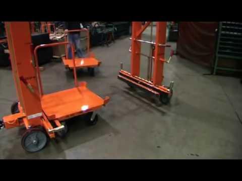 Industrial Cart Non Powered Mother Daughter Cart