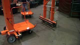 Mother Daughter Cart System, Tuggable Delivery Cart, Material Handling Carts by Topper Industrial