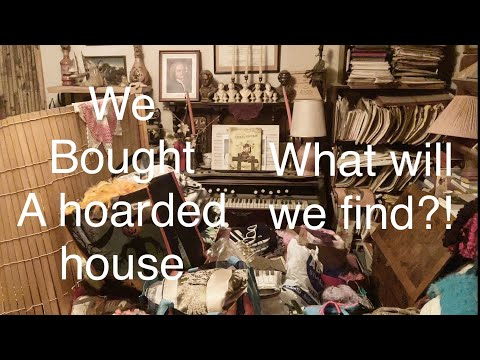 Part 1. Hoarder House, We Bought EVERYTHING! what will we find?! The Musicians House