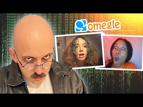 Download Hacking Into OMEGLE Calls Prank (Funny Jumpscare Reactions)  Part#18