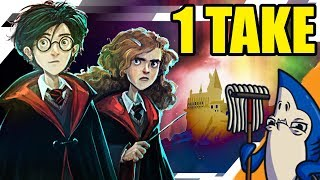 HARRY POTTER Filmed in only ONE Take - Funny Animation Roleplay