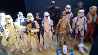 Cacería de figuras de star wars XXX
