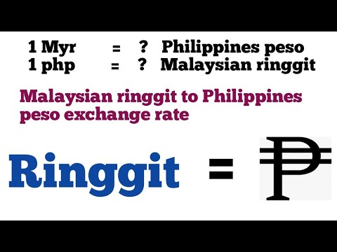 Malaysian Ringgit To Philippines Peso Exchange Rate Today | Myr To Php | Rm To Php | Php To Myr