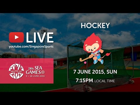 Hockey women Singapore vs Indonesia | 28th SEA Games Singapore 2015