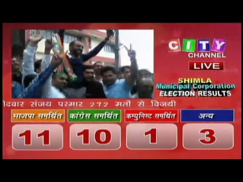 Shimla MC Election Result 2017
