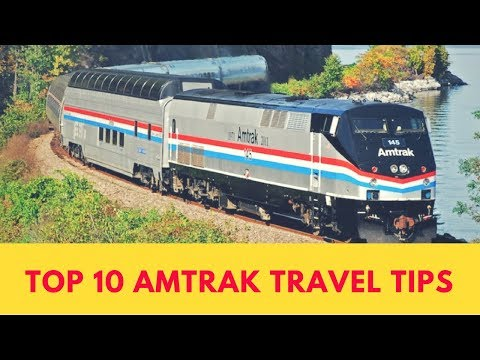 10 TIPS For Your First AMTRAK Train TRIP!