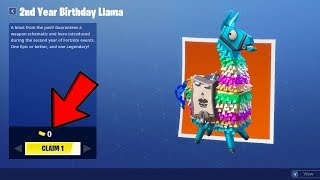 Fortnite Birthday LLAMA's are BACK and better than EVER!