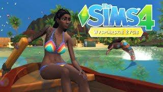 The Sims 4  Kesi i Suni w Tropikachz Oską #7 - Kwiecie się sypie ⛵