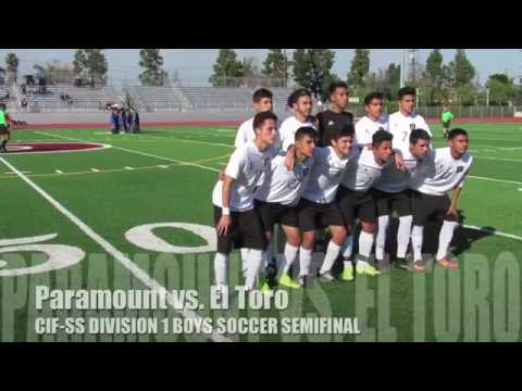 CIF Soccer: Paramount vs. El Toro