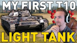My First T10 Light Tank in World of Tanks!