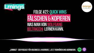 #27 Quick Wins: Fälschen & Kopİeren – Was man von Wolfgang Beltracchi lernen kann (Teaser)
