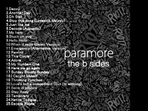 Paramore -The B Sides (Full album)