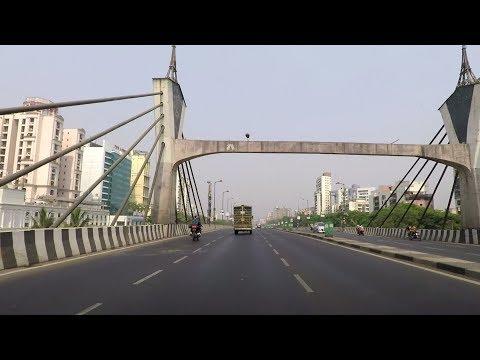 Driving on Sion–Panvel Expressway - Maharashtra, India