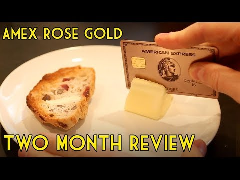 Amex Rose Gold: How Many Points I've Earned? (Two Month Review)
