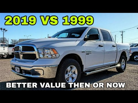 2019-vs-1999-pickup-trucks.-price-vs-differences!-must-watch