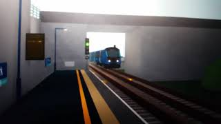 Trains at Ashlan Park (ROBLOX STEPFORD)