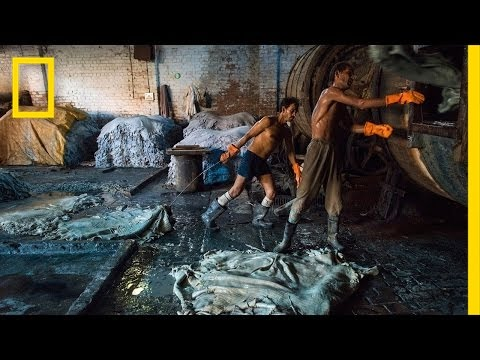 Inside an Indian Tannery | The Ganges