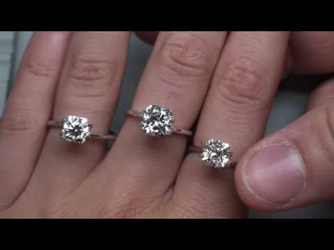 Gia Ex Ex Cushion Cut Diamonds Hand Shots Youtube