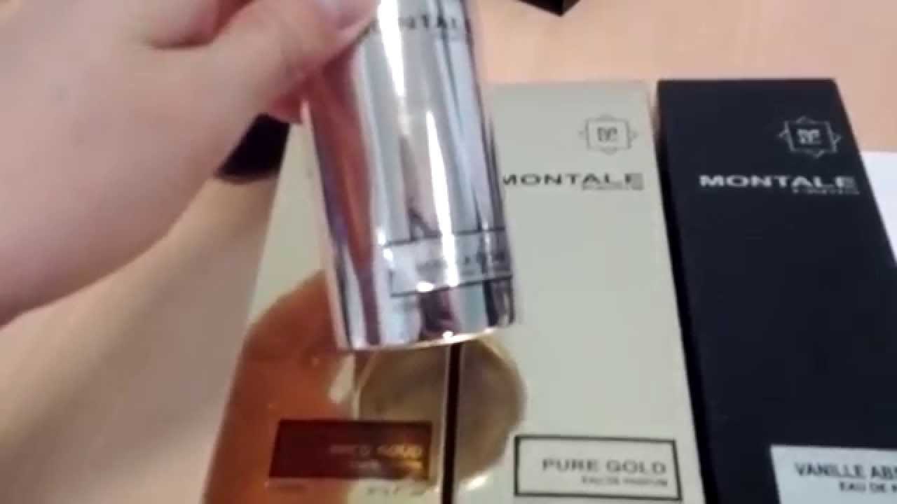 N1 Сравниваем оригинал и подделку Montale - YouTube