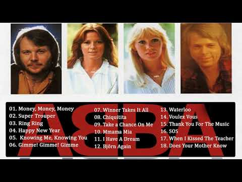ABBA Greatest Hits Full Album -  Best Songs Of ABBA 2018 - ABBA The Best Of