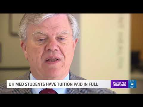 UH med students have tuition paid in full