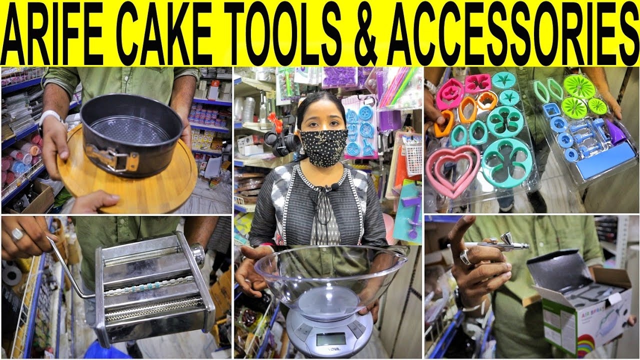 Arife cake tools Shop   Cake Baking Decoration Tools And Accessories    केक बनाने का सामान