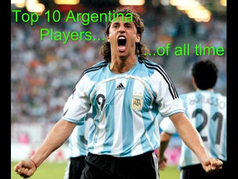 Top 10 Argentina Players of all Time!