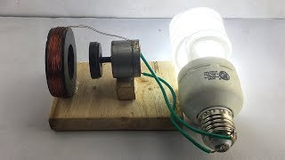 New Awesome Free Energy Generator By DC Motor Self Running Machine 2019